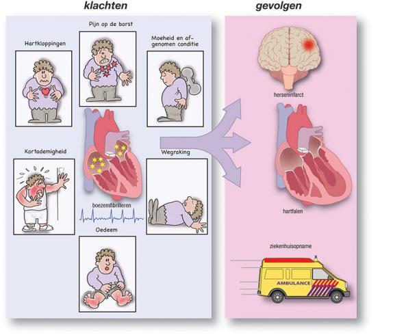 Hartfalen bij ouderen for Prognose hartfalen