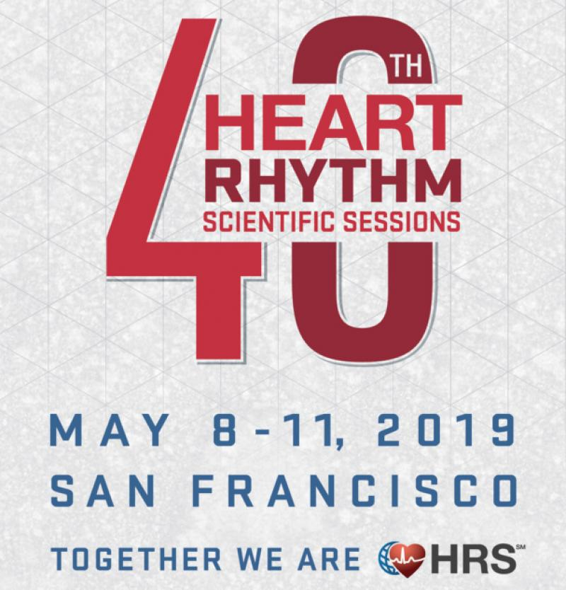 We will present at HRS 2019 in San Francisco
