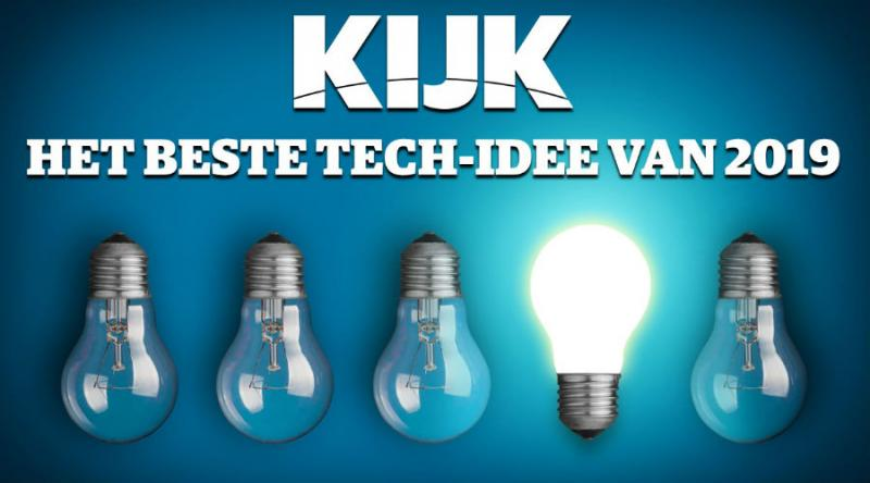 "Our work has been nominated for ""Best tech idea 2019"" by the Dutch popular science magazine Kijk: please vote"