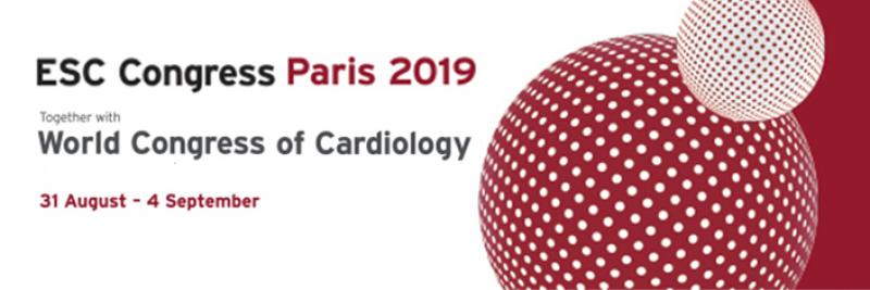 We will present during the ESC 2019 meeting in Paris