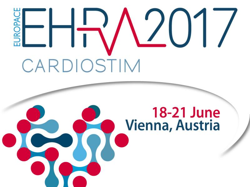 Oral and poster presentations at EHRA 2017 meeting in Vienna, including Young Investigator Award session