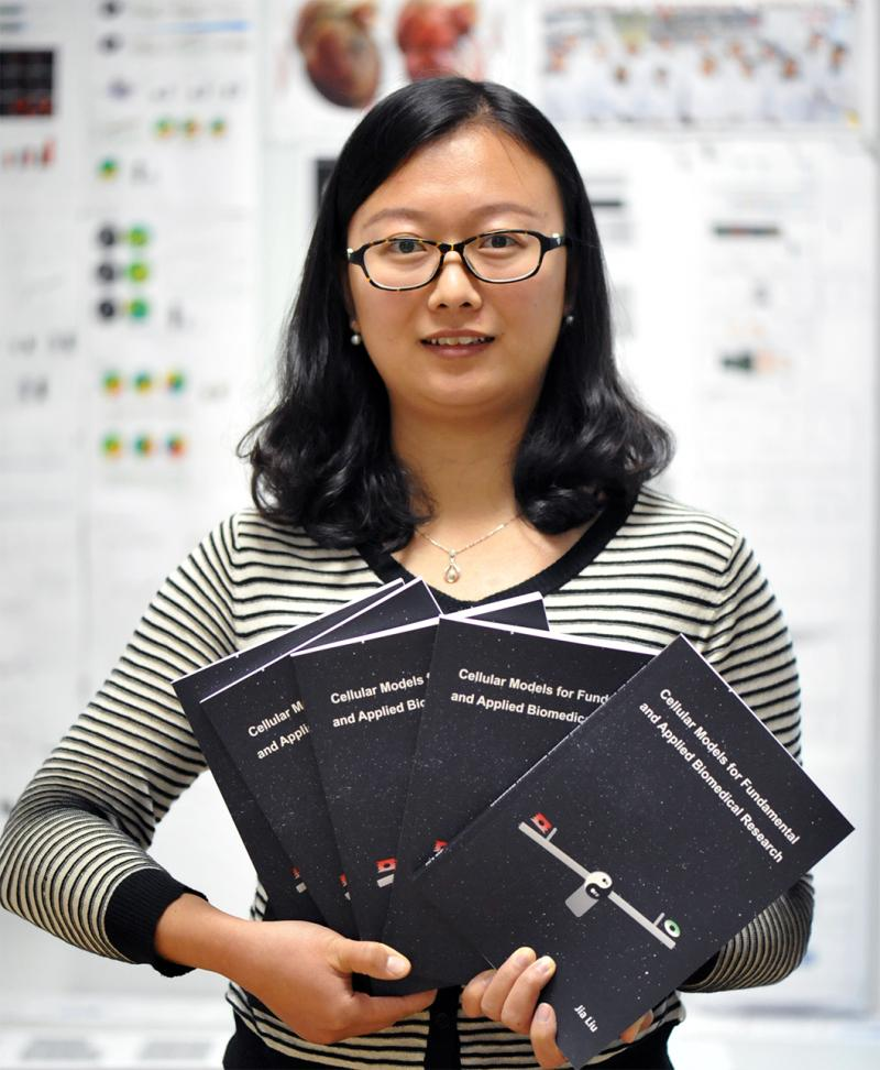 Jia will defend her PhD thesis on Nov 28th. Good luck!