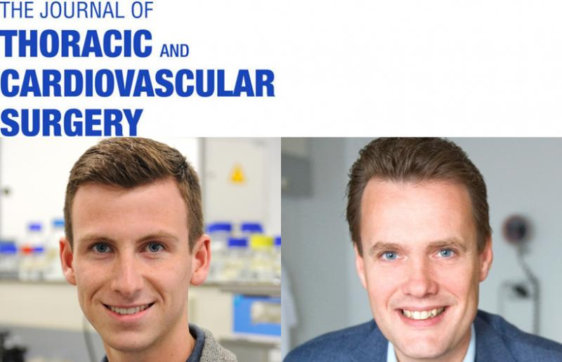 Paper published in the Journal of Thoracic and Cardiovascular Surgery: congrats Niels Harlaar!