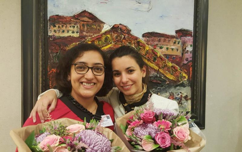 Prizes for Rupa and Iolanda at annual Rembrandt Symposium